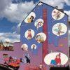 Zidrou - Fresque - Tour à plombs