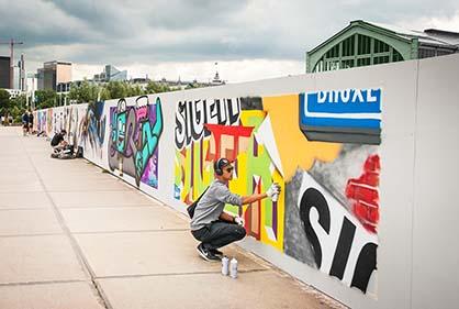 Free Wall Tour & Taxis / Graffitis