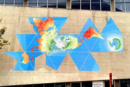 Buckminster_fuller_mural_dymaxion_map